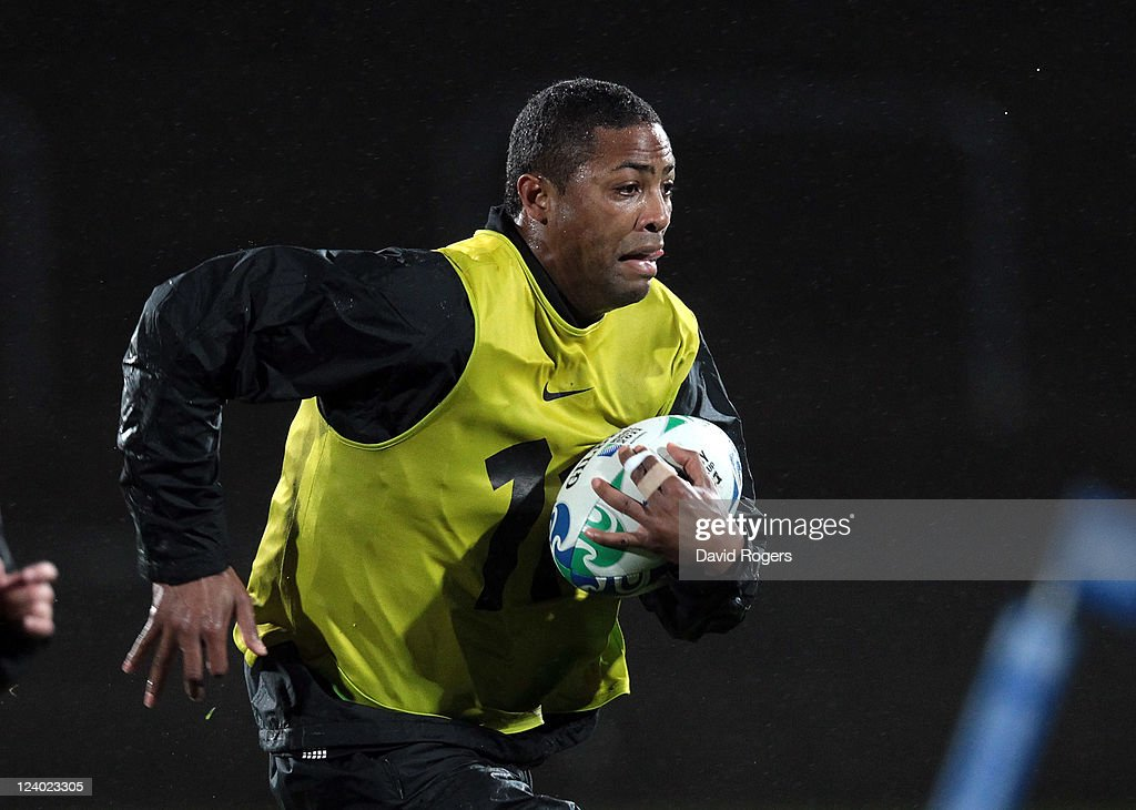 England IRB RWC 2011 Training Session