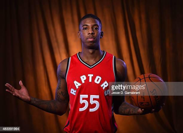 c3942be5f ... Bio 2015 NBA Rookie Photo Shoot Delon Wright of the Toronto Raptors ...
