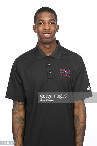 Delon Wright poses for a headshot during the 2015 NBA Draft Combine on May 16 2015 at Northwestern Memorial Hospital in Chicago Illinois NOTE TO USER...