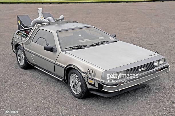 DeLorean Back to the Future film car replica Artist Unknown