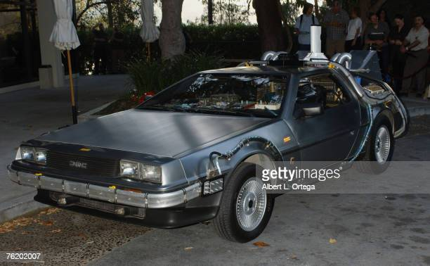 Delorean used in 'Back To The Future'