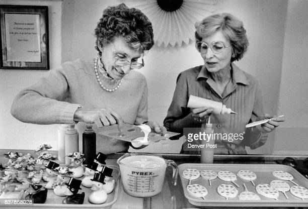Delores Harriger and her sister Dorothy Hughes have a chocolate company called the Chocolate Wanderbar They make hand painted and molded chocolates...