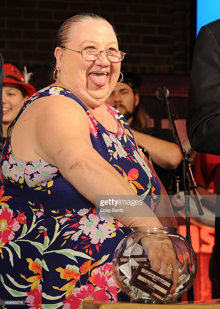 Delores Hughes of Hollywood Hillbillies appears onstage at the REELZ Channel upfront presentation at Hudson Hotel on April 9, 2014 in New York City.