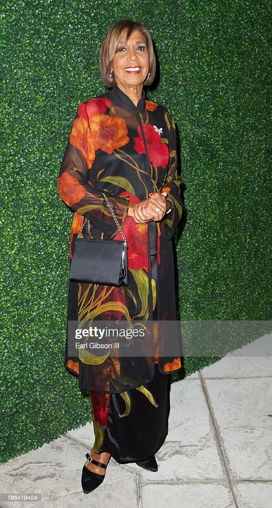 Delores Robinson attends the House Of Flowers Gala on October 19, 2013 in Beverly Hills, California.