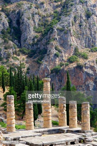 Delphi, Grecia : Foto de stock