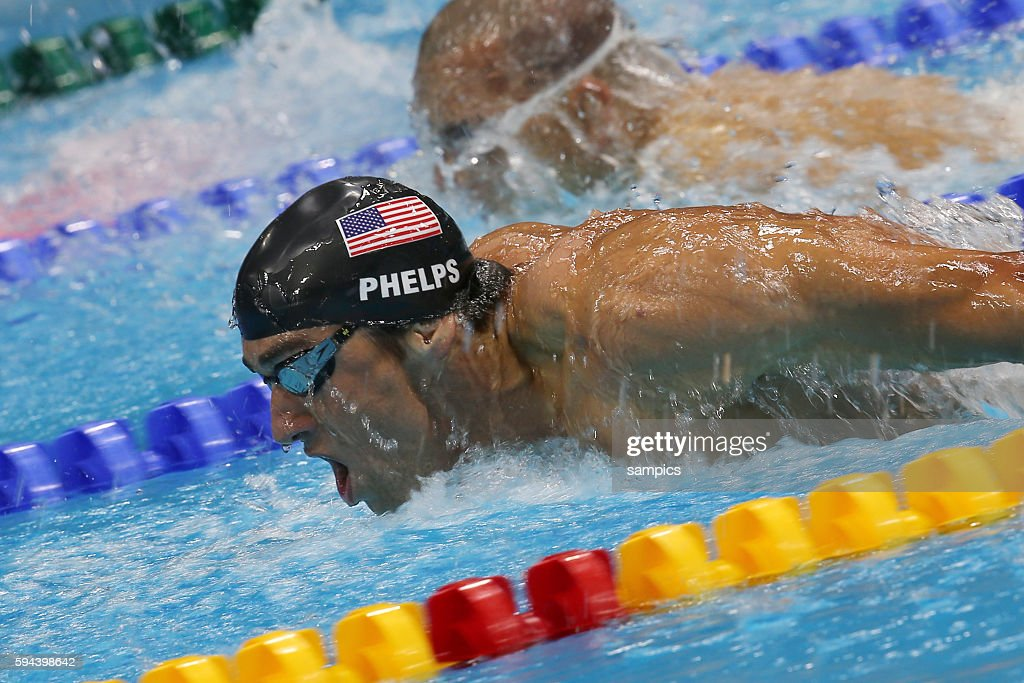 Delphin 200 Meter meter Michael Phelps USA Schwimmen Swimming Olympische Sommerspiele in London 2012 Olympia olympic summer games london 2012