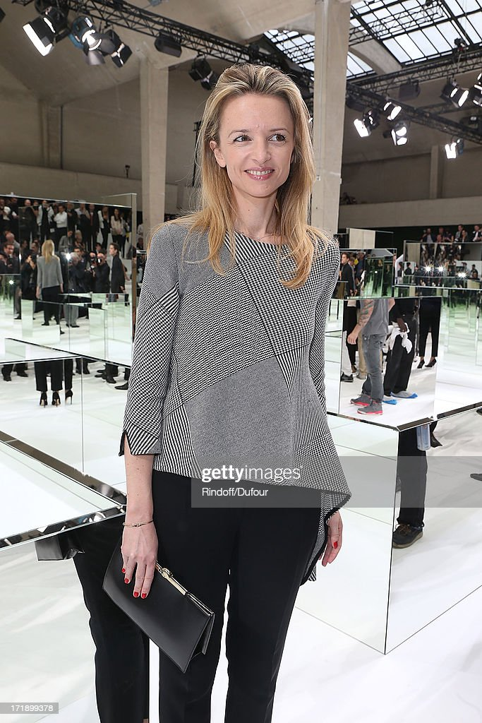 Delphine Arnault attends Dior Homme Menswear Spring/Summer 2014 show as part of Paris Fashion Week on June 29, 2013 in Paris, France.