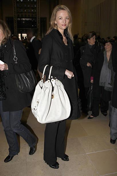 bfc369d06fde Delphine Arnault attends the Louis Vuitton fashion show during Paris  Menswear Fashion Week Fall-Winter