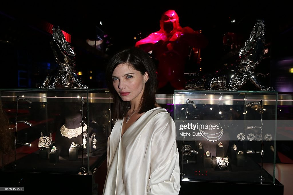 Delphine Chaneac attends jeweler Edouard Nahum's 'Maya' collection launch cocktail party at La Gioia on December 4, 2012 in Paris, France.