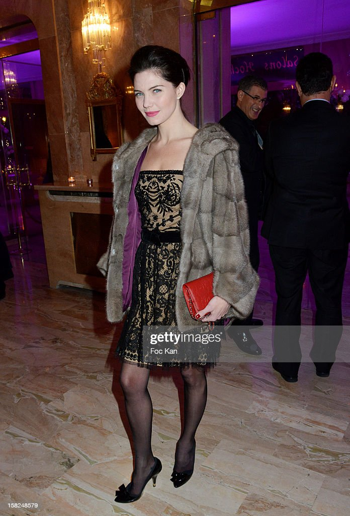 Delphine Chaneac attends the The Bests Awards 2012 Ceremony at the Salons Hoche on December 11, 2012 in Paris, France.