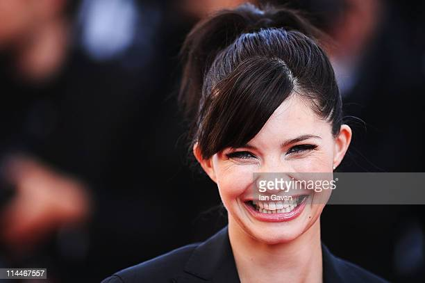 Delphine Chaneac attends the 'This Must Be The Place' premiere during the 64th Annual Cannes Film Festival at Palais des Festivals on May 20 2011 in...