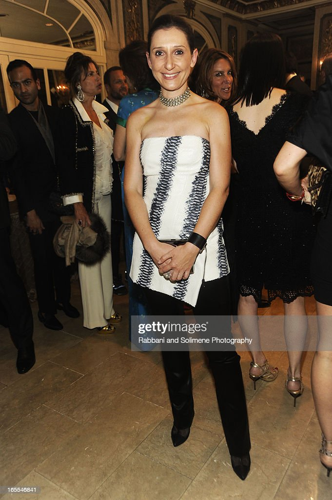 <a gi-track='captionPersonalityLinkClicked' href=/galleries/search?phrase=Delphine+Krakoff&family=editorial&specificpeople=4439301 ng-click='$event.stopPropagation()'>Delphine Krakoff</a> attends the 2013 Henry Street Settlement Spring Gala Dinner Dance at The Plaza Hotel on April 4, 2013 in New York City.