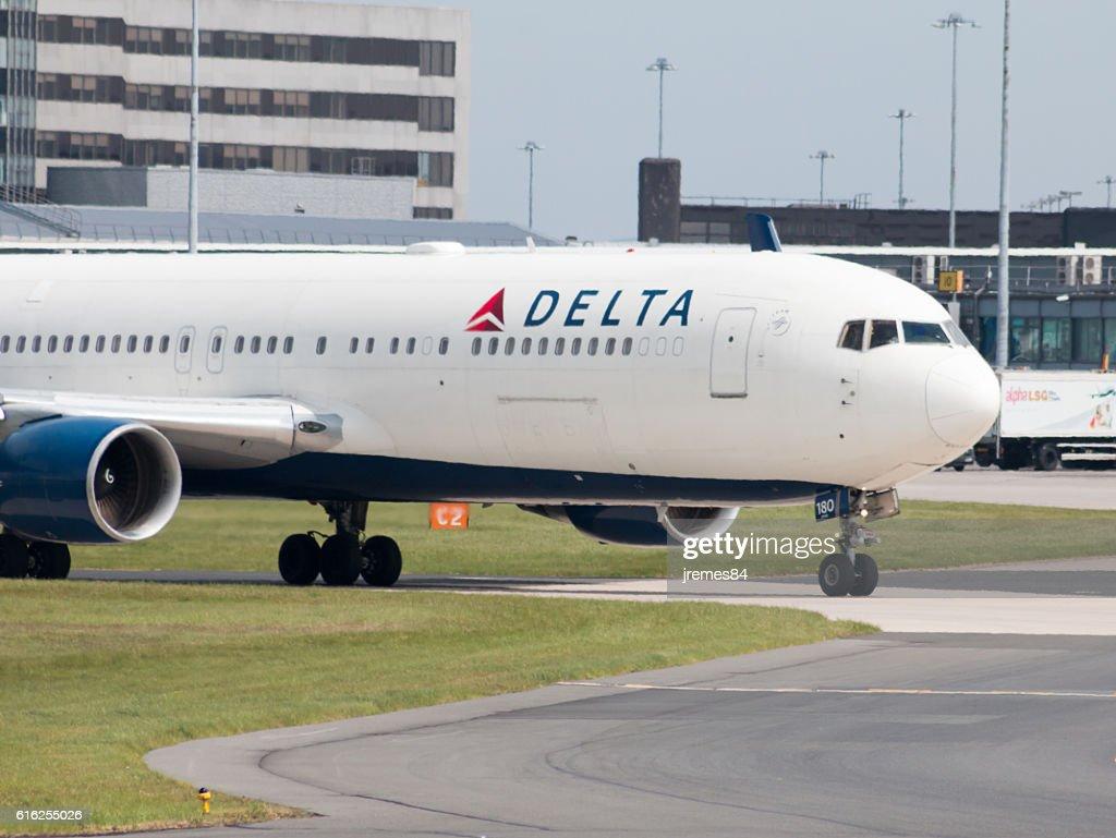 Delta Air Lines 767 : Foto de stock