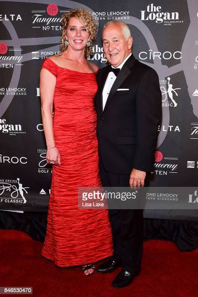 Delta Airlines Associates Karen Titus and Von Campanella attend the Erving Golf Classic Black Tie Ball sponsored by Delta Airlines Pond LeHocky Law...