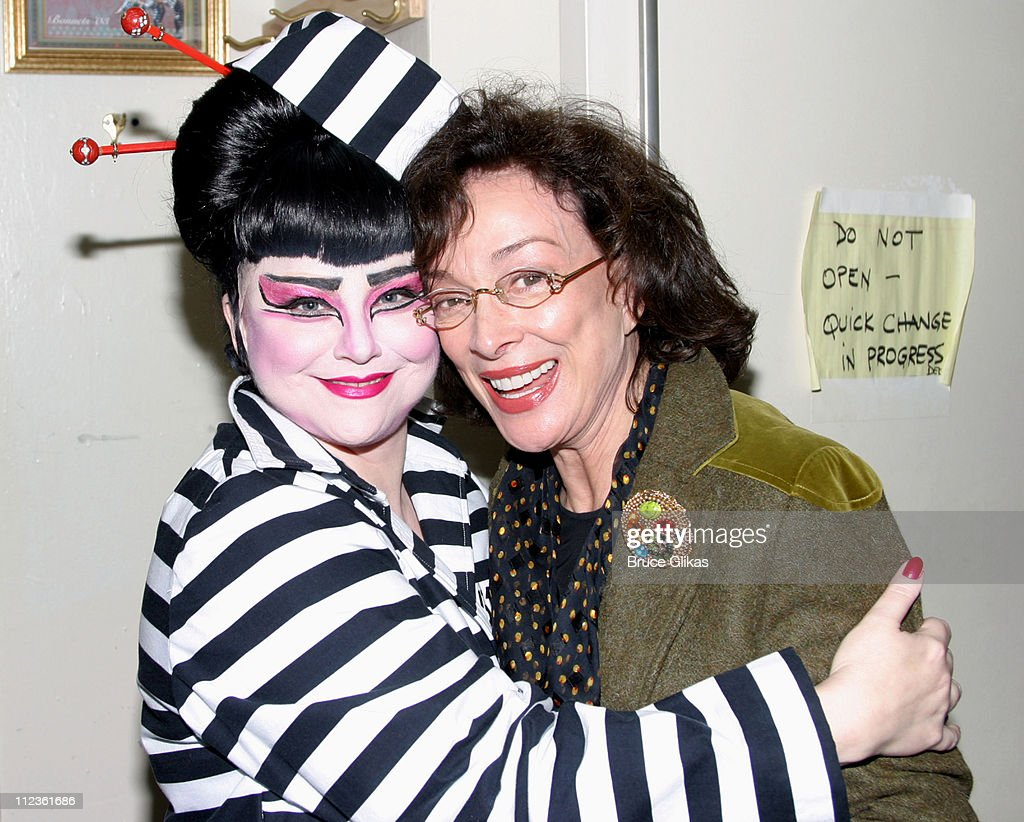 """Designing Women"" Reunion Backstage at ""Thoroughly Modern Millie"" on Broadway"