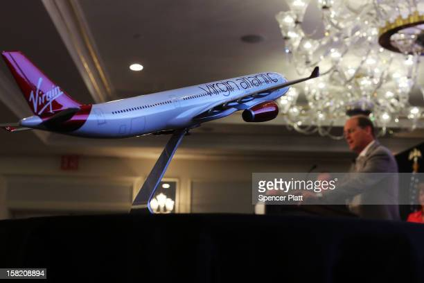 Delta Chief Executive Richard Anderson speaks at a news conference where it was announced that Delta Air Lines is buying a 49 percent stake in...