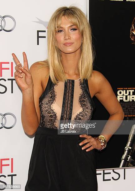 Delta Goodrem attends the AFI FEST 2013 Presented By Audi 'Out Of The Furnace' Premiere held at TCL Chinese Theatre on November 9 2013 in Hollywood...