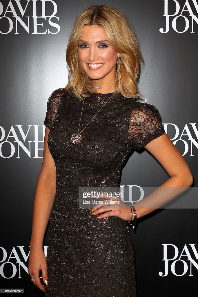 Delta Goodrem attends the David Jones 175 year celebration at David Jones on May 23, 2013 in Sydney, Australia.