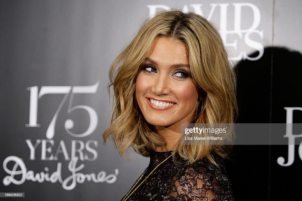 <a gi-track='captionPersonalityLinkClicked' href=/galleries/search?phrase=Delta+Goodrem&family=editorial&specificpeople=201895 ng-click='$event.stopPropagation()'>Delta Goodrem</a> attends the David Jones 175 year celebration at David Jones on May 23, 2013 in Sydney, Australia.