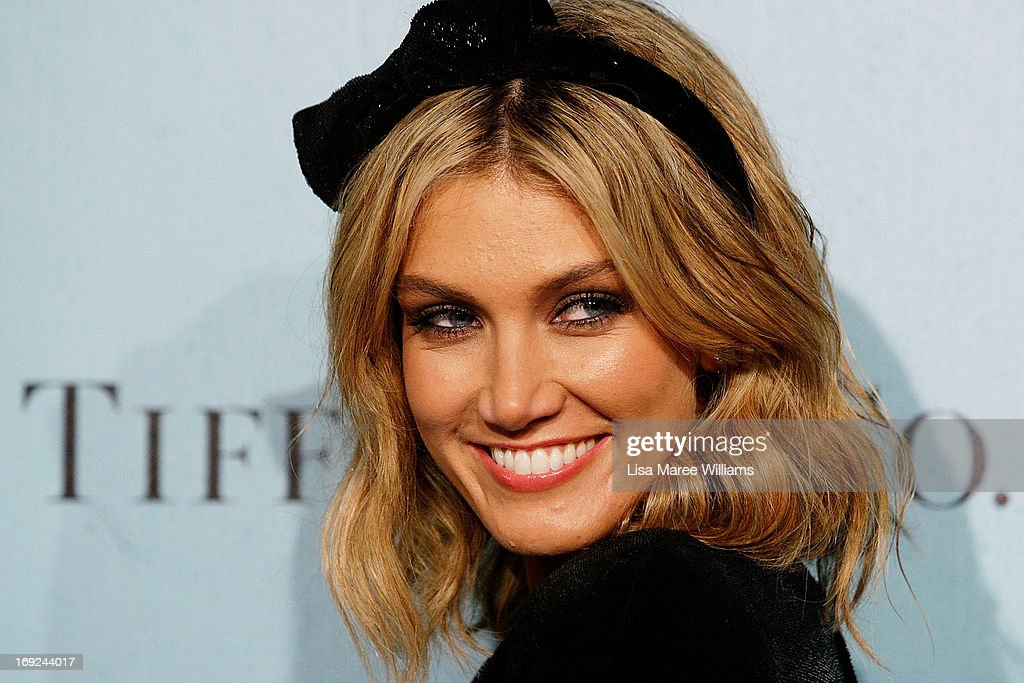 Delta Goodrem attends the 'Great Gatsby' Australian premiere at Moore Park on May 22, 2013 in Sydney, Australia.