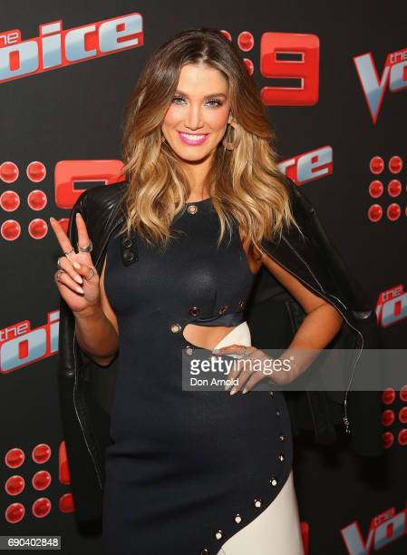 Delta Goodrem attends the Voice Live Show Launch 2017 on May 31 2017 in Sydney Australia