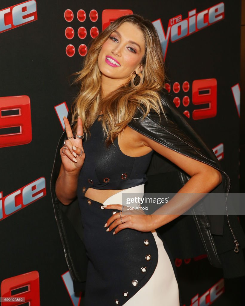 Delta Goodrem attends the Voice Live Show Launch 2017 on May 31, 2017 in Sydney, Australia.
