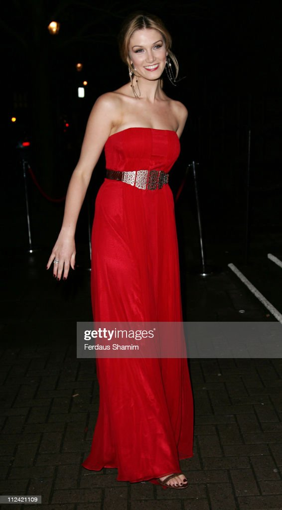 Delta Goodrem during TAG Heuer Strength & Beauty Exhibition - Opening Night Party - Outside Arrivals at Royal College of Art in London, United Kingdom.