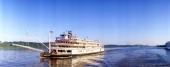 Delta Queen steamboat on Mississippi River Mississippi