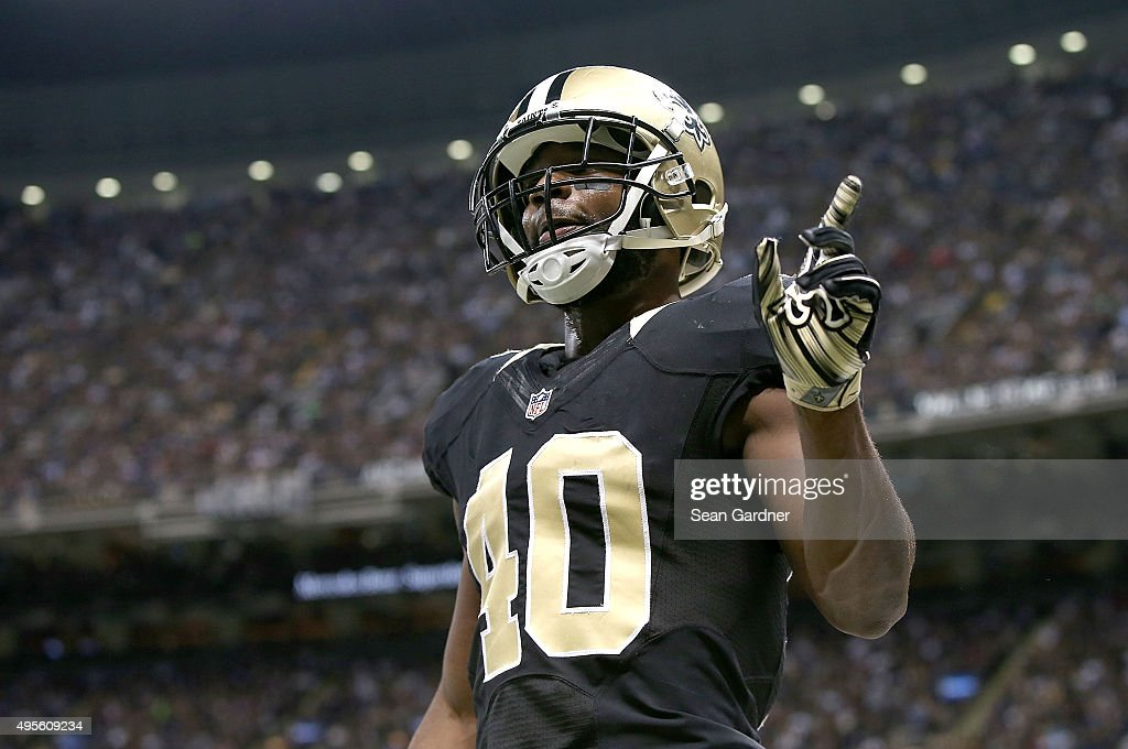 delvin breaux color rush jersey