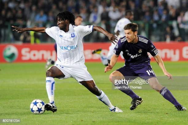 Delvin NDINGA / Xabi ALONSO Auxerre / Real Madrid Champions League