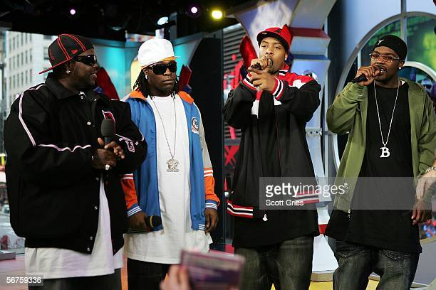 Dem Franchize Boyz make an appearance on MTV's Total Request Live on January 6 2006 in New York City