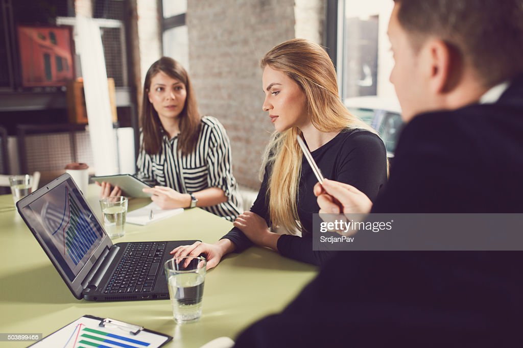 Demanding Boss : Stock Photo
