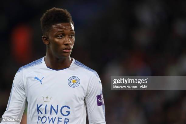 Demarai Gray of Leicester City during the preseason friendly match between Leicester City and Borussia Moenchengladbach at The King Power Stadium on...