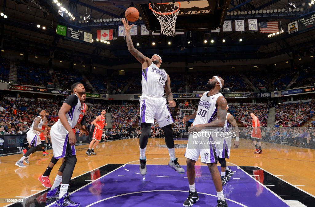 <a gi-track='captionPersonalityLinkClicked' href=/galleries/search?phrase=DeMarcus+Cousins&family=editorial&specificpeople=5792008 ng-click='$event.stopPropagation()'>DeMarcus Cousins</a> #15 of the Sacramento Kings rebounds against the Milwaukee Bucks on March 23, 2014 at Sleep Train Arena in Sacramento, California.