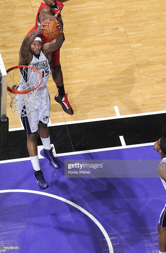 <a gi-track='captionPersonalityLinkClicked' href=/galleries/search?phrase=DeMarcus+Cousins&family=editorial&specificpeople=5792008 ng-click='$event.stopPropagation()'>DeMarcus Cousins</a> #15 of the Sacramento Kings rebounds against the Los Angeles Clippers on March 19, 2013 at Sleep Train Arena in Sacramento, California.