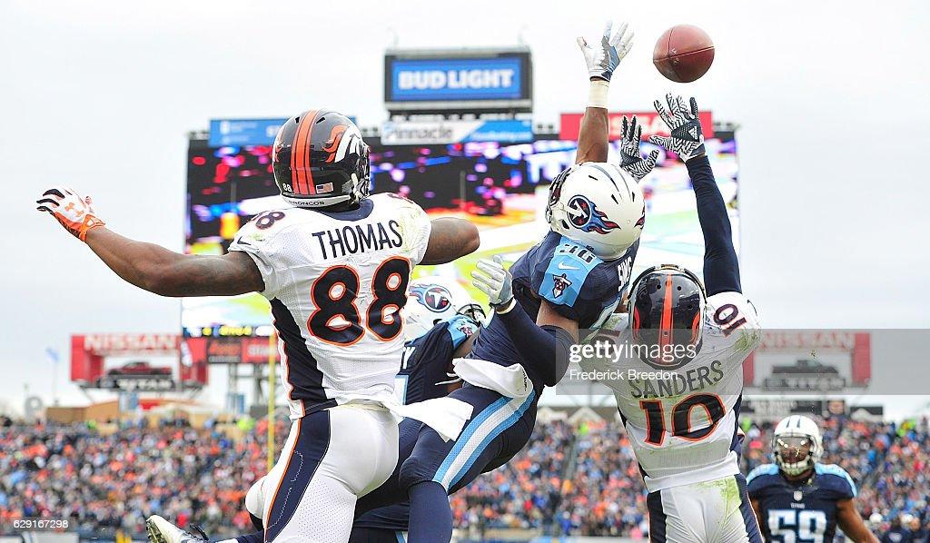 Denver Broncos v Tennessee Titans