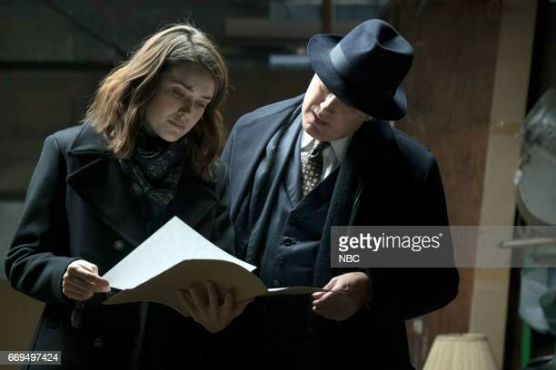 THE BLACKLIST 'Dembe Zuma' Episode 416 Pictured Megan Boone as Elizabeth 'Liz' Keen James Spader as Raymond 'Red' Reddington