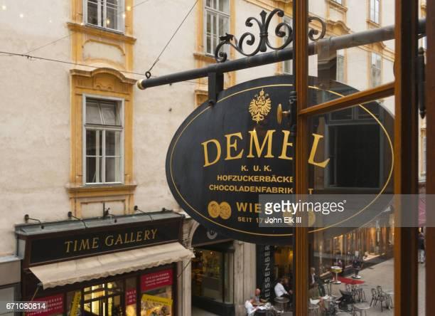 Demel cafe in Vienna