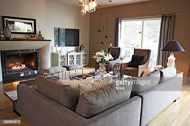 LEWIS 'OC Demented' Episode 210 Pictured Living Room after renovation