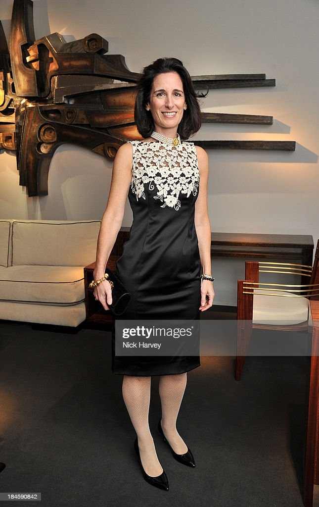 Demetra Von Auersperg-Breunner attends the collectors preview for PAD London at Berkeley Square Gardens on October 14, 2013 in London, England.