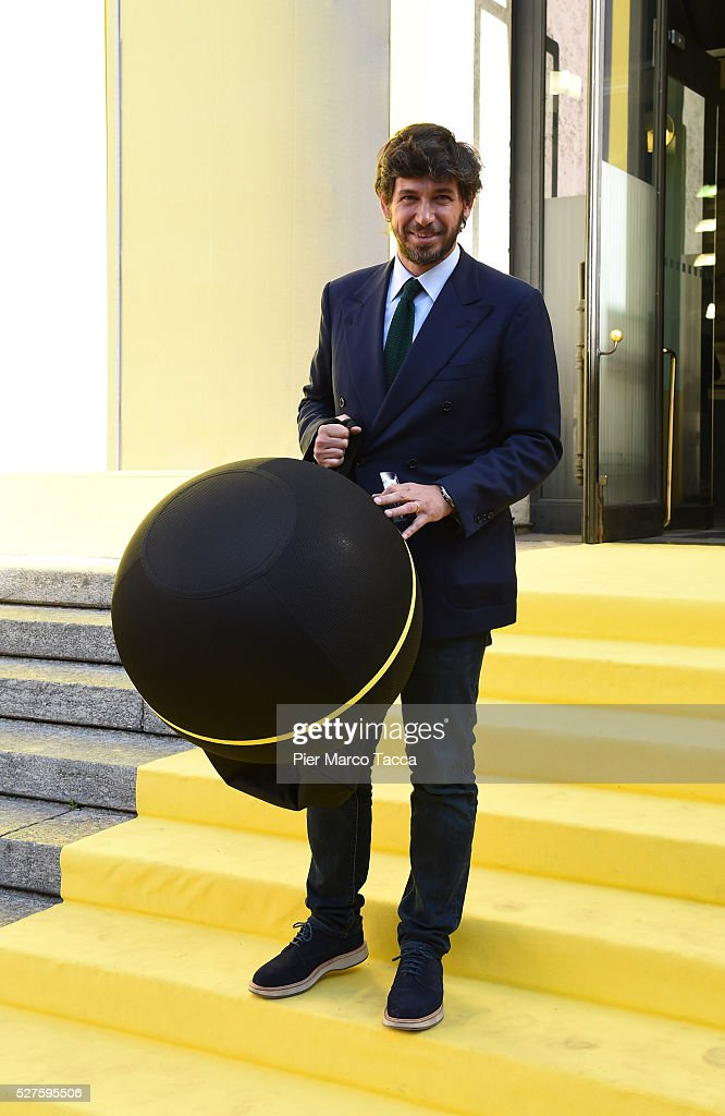 <a gi-track='captionPersonalityLinkClicked' href=/galleries/search?phrase=Demetrio+Albertini&family=editorial&specificpeople=807572 ng-click='$event.stopPropagation()'>Demetrio Albertini</a> attends the Technogym Listing Ceremony at Palazzo Mezzanotte on May 3, 2016 in Milan, Italy. Technogym is the world leader in the construction of equipment for gyms, founded in 1983 by Nerio Alessandri, and was listed today on the Milan Stock Exchange.