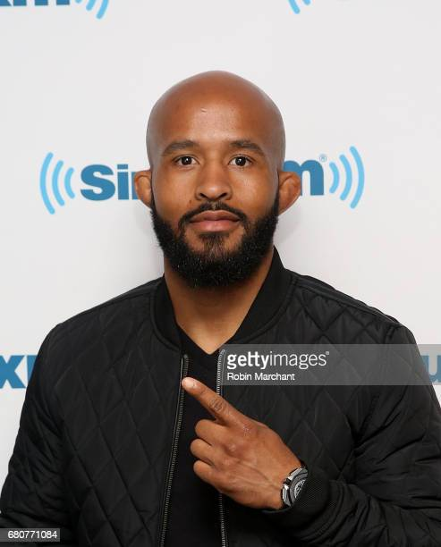 Demetrious 'Mighty Mouse' Johnson visits at SiriusXM Studios on May 9 2017 in New York City