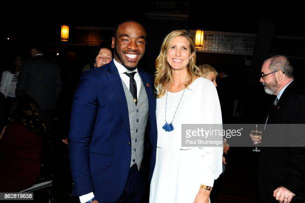 Demetrius Napolitano and Chiara Mai attend the Children's Rights Inspiration Awards Benefit Hosted by Jordan Roth at The Lighthouse at Chelsea Piers...
