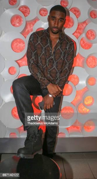 Demetrius Shipp Jr attends the All Eyez on Me ABFF Screening at Regal South Beach Cinema on June 17 2017 in Miami Beach Florida