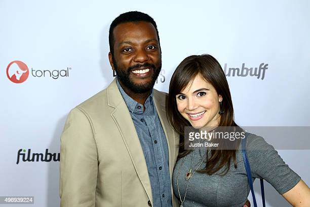 Demetrius Wren and Christina Wren attend the Los Angeles Premiere of Justin Johnson's 'Double Digits The Story Of A Neighborhood Movie Star' at...