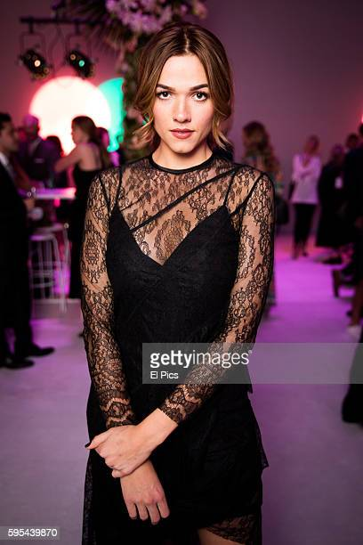 Demi Harman poses at the party during the Myer Spring 16 Launch at Hordern Pavilion on August 23 2016 in Sydney Australia