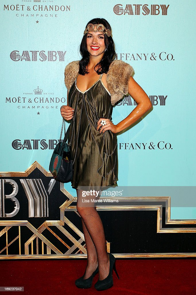 Demi Harmon attends the 'Great Gatsby' Australian premiere at Moore Park on May 22, 2013 in Sydney, Australia.