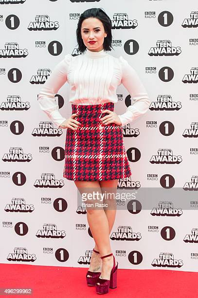 Demi Lovato attends BBC Radio 1's Teen Awards at SSE Arena Wembley on November 8 2015 in London England
