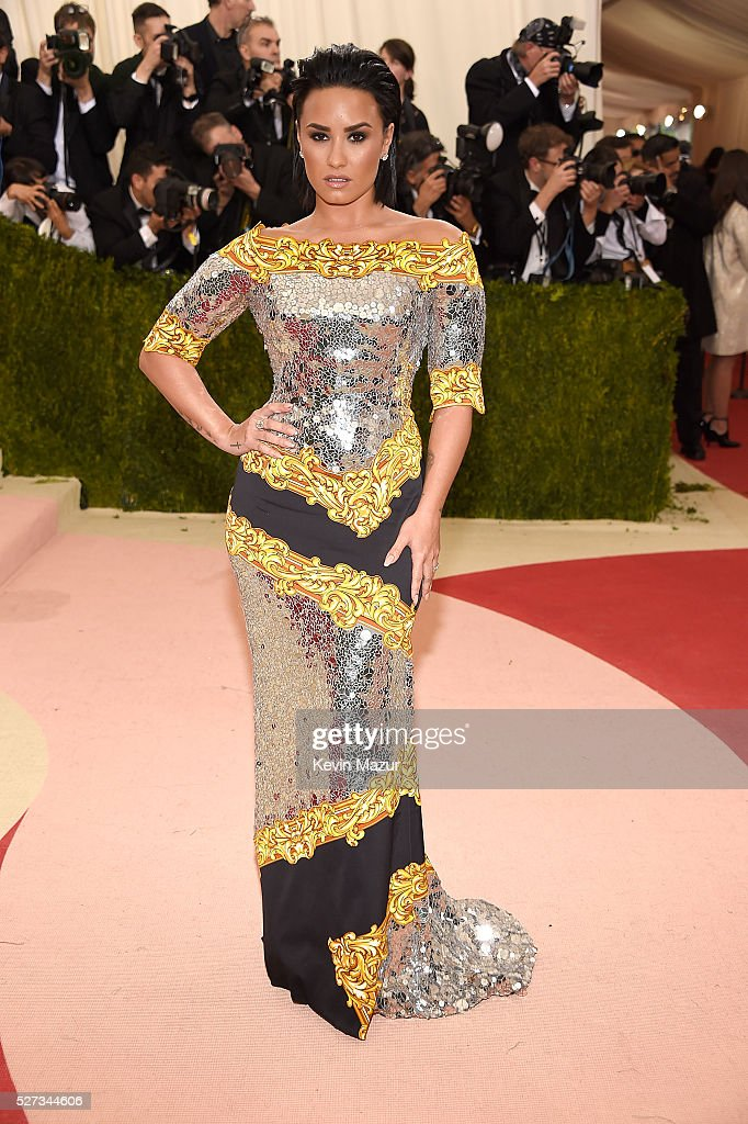 Demi Lovato attends 'Manus x Machina: Fashion In An Age Of Technology' Costume Institute Gala at Metropolitan Museum of Art on May 2, 2016 in New York City.