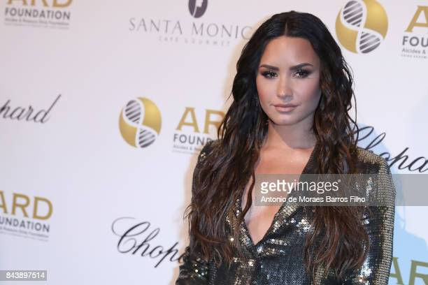 Demi Lovato attends the Alcides Rosaura Foundations' 'A Brazilian Night' to Benefit Memorial Sloan Kettering Cancer Center at Cipriani 42nd Street on...